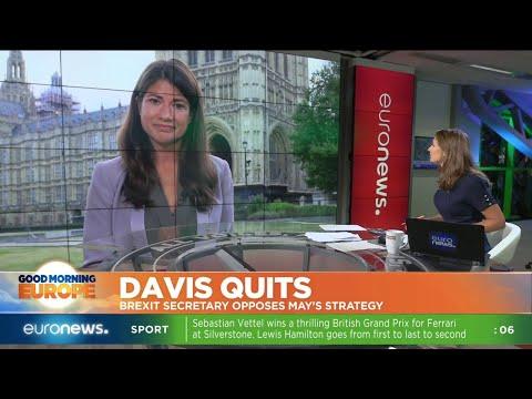 David Davis Quits: Brexit secretary opposes Theresa May's strategy