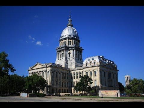 Капитолий Illinois State Capitol Springfield