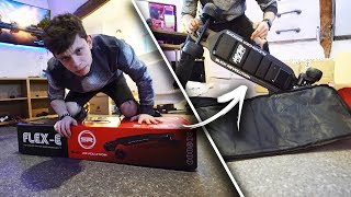 Gambar cover IT'S FINALLY HERE! The Boosted Board KILLER ELECTRIC SKATEBOARD !! (Daily Vlog)
