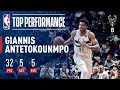Giannis Antetokounmpo Shows Why They Call Him The Greek Freak