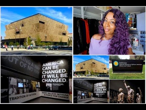 Touring The Smithsonian National Museum Of African American History & Culture | VLOG #22