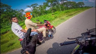 Why Assam Police Not Wearing helmet ?