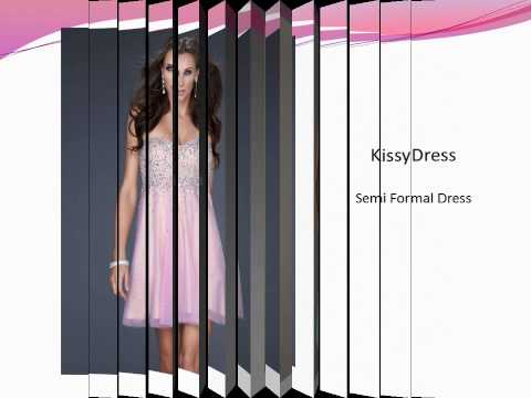 Semi Formal Dresses Collections