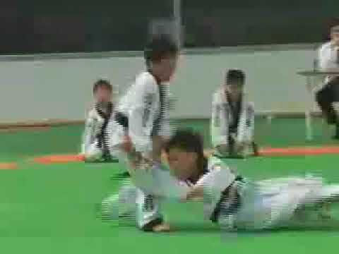 KOREA HAPKIDO FEDERATION KIDS. OLD VIDEO