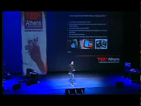 The death of print media: Thodoris Georgakopoulos at TEDxAthens