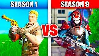 SEASON 1 vs SEASON 9 su FORTNITE!! CHALLENGE QUIZ