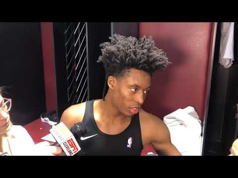 Cavaliers see signs of growth in Collin Sexton after first battle with champion Warriors, Stephen Curry