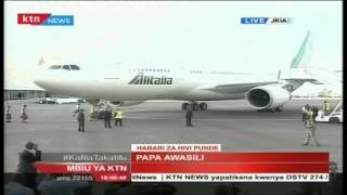 Pope Francis arrives in Kenya for historic tour
