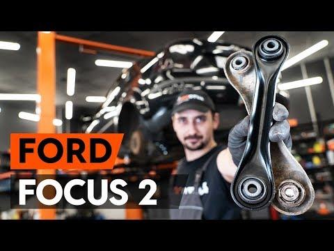 Как заменить задний рычаг подвески FORD FOCUS 2 (DA) [ВИДЕОУРОК AUTODOC]