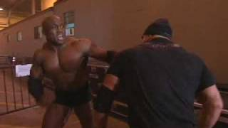 Bobby Lashley & Scott Steiner Brawl On iMPACT!