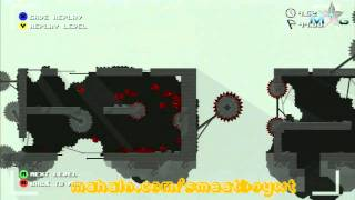Super Meat Boy Walkthrough - The End 6-5 Omega