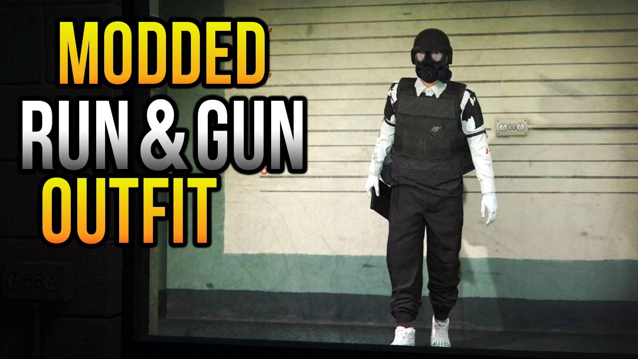 RUN AND GUN OUTFIT TUTORIAL - GTA 5 ONLINE | PS4 XB1 PC - YouTube