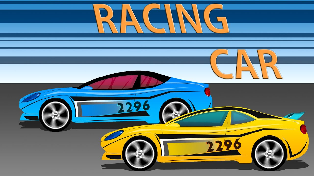 racing car cartoon cars kids game play youtube