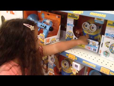 The Minions At Toys R Us!