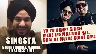 Singsta Talks On Yo Yo Honey Singh's Guidance, Modern Ranjha, Shooting Experience, Billo Tu Agg