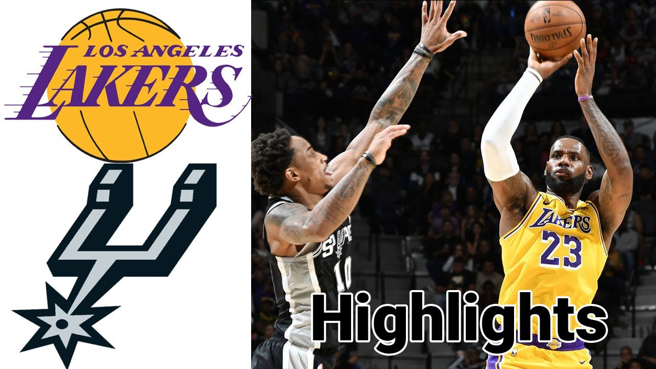 Lakers vs Spurs HIGHLIGHTS Full Game | NBA January 7