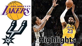 Check out lakers vs spurs highlights full game subscribers to sports talk line channel for more and join our membership programs extra ...