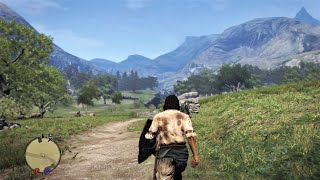 HOW BIG IS THE MAP in Dragon's Dogma? Walk Across the Map