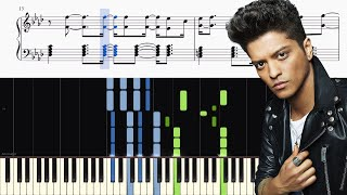 Bruno Mars &amp Cardi B - Finesse (Remix) - ADVANCED Piano Tutorial SHEETS