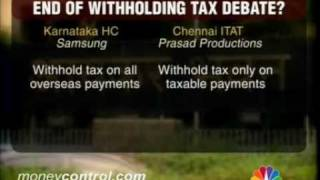 Withholding tax debate ends?