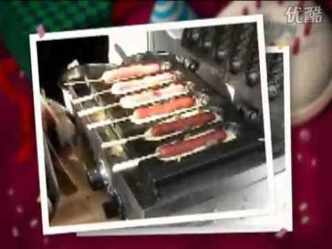 hot dog waffle machine