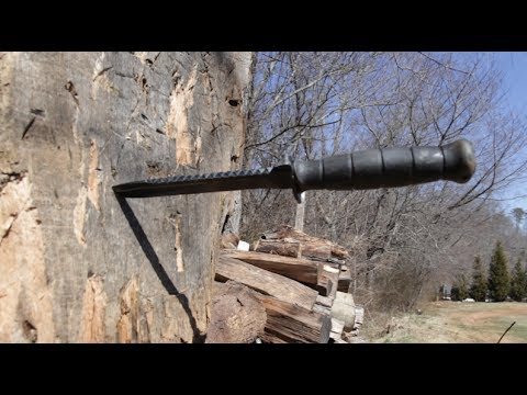 Basic Knife Throwing Russian Army Style Youtube
