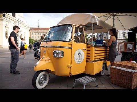 THEY HAVE VEGAN ICE CREAM TRUCKS | Van Life Couple | Olomouc to Brno, Czechia