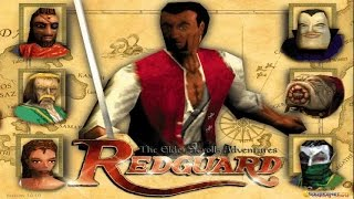 Elder Scrolls Adventure: Redguard - 1998 PC Game, introduction and gameplay