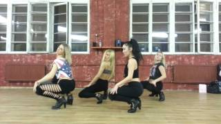 Tinashe 2 on high heels choreography