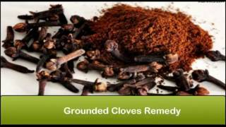 Ways of Using Cloves to Relief Tooth ache