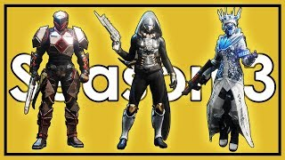 Destiny 2: Datto's Season 3 Fashion Show and Weapon Loadouts