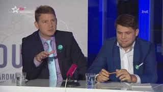 Petr Mach (SSO) setřel Okamuru (SPD)