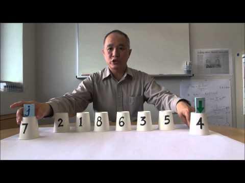 Quicksort: Partitioning an array