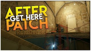 GET UP HERE AFTER PATCH!!! | Rainbow Six Siege Hiding Spots