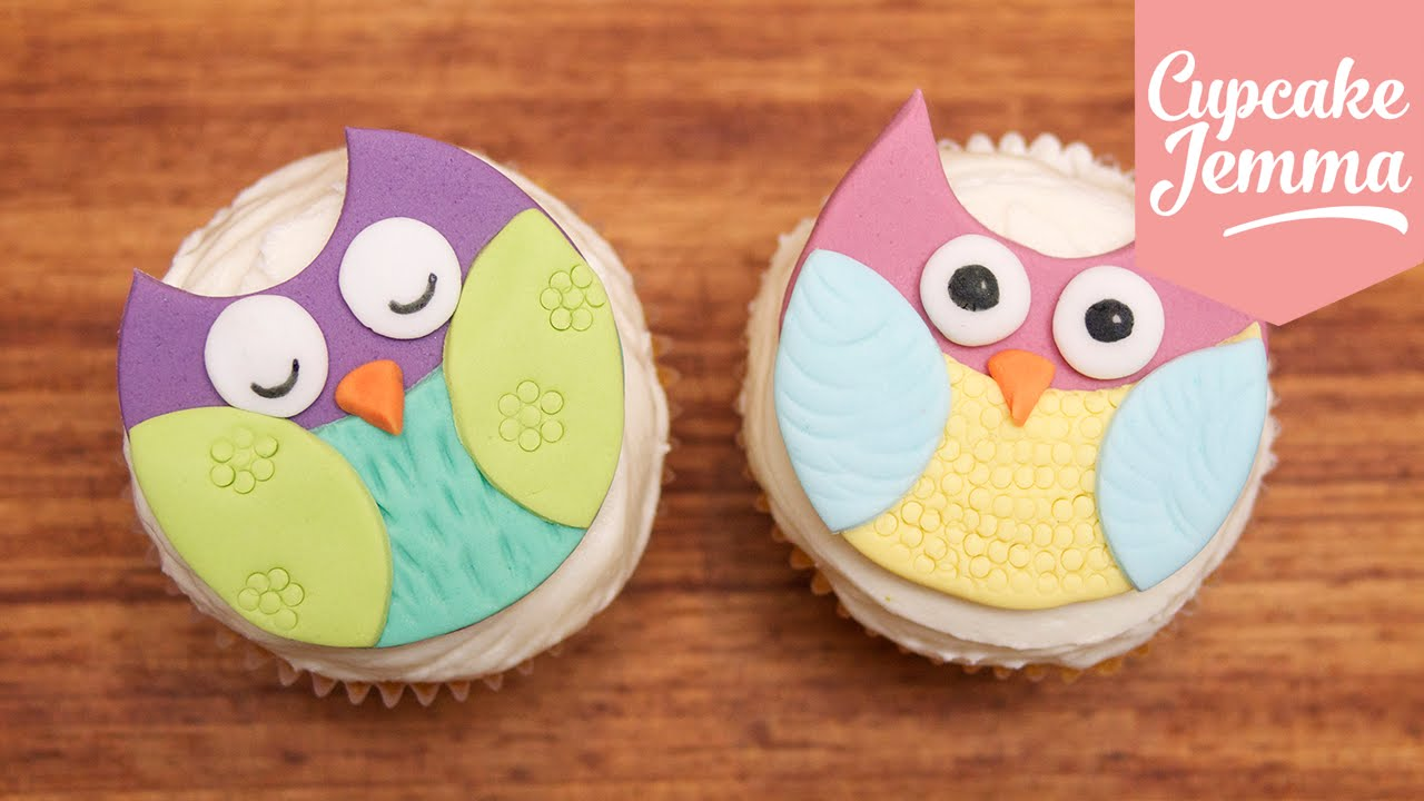 How To Make Super Cute Owl Cupcakes