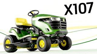 Minitractor X107 | John Deere ES