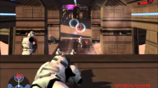 star wars battlefront 1 gameplay s1 #5 pc bespin platforms