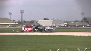 Tornado takeoff at RAF Coningsby