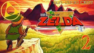 """""""8-Bit Adventuring"""" - Kinan Plays The Legend of Zelda #2"""