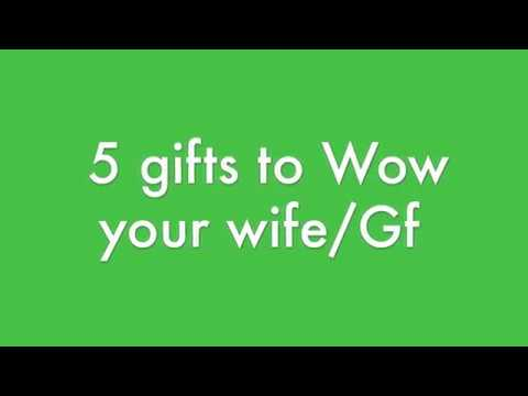 5 Gifts to Impress Women in your life | Holiday gift Ideas for your Wife/ Girl Friend