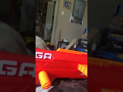 How to safely remove a clip from the nerf mega thunderhawk