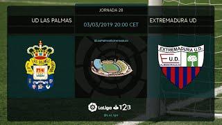 UD Las Palmas - Extremadura UD MD28 D2000