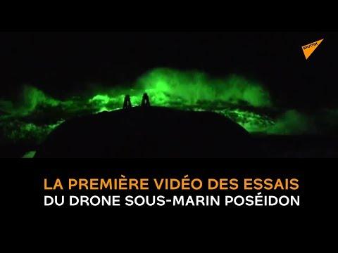 La première vidéo des essais du drone sous-marin Poséidon rendue publique