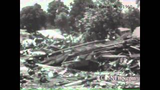 May 25, 1960: Tsunami devastation in Hawaii