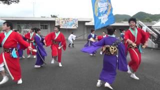 山口大学七夕祭2013 舞龍人 龍美一貫