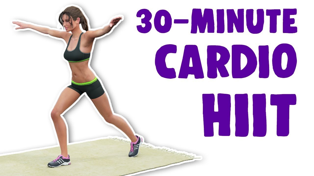 30 Min Weight Loss Cardio Workout – Simple Exercises