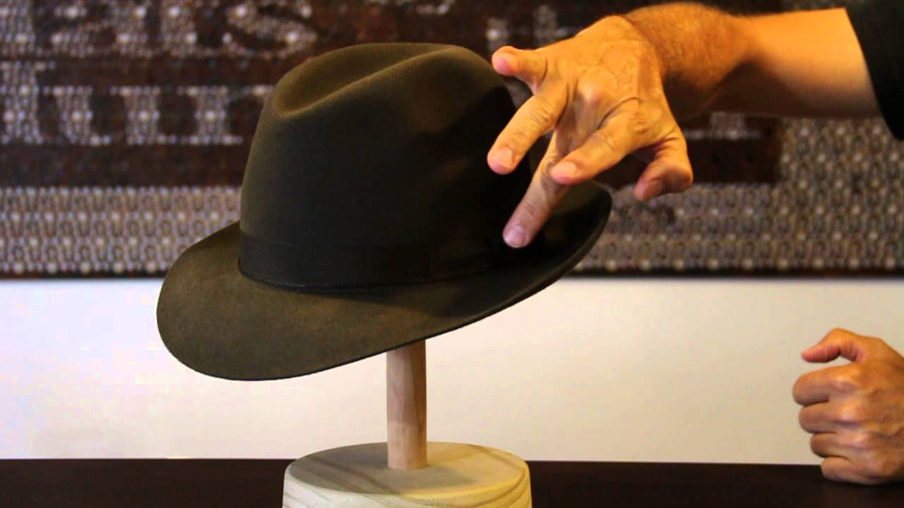 Akubra Fedora Fern Green Hat Review- Hats By The Hundred - YouTube f71c121b66a