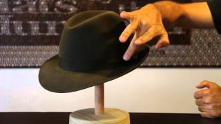 Akubra Fedora Fern Green Hat Review- Hats By The Hundred