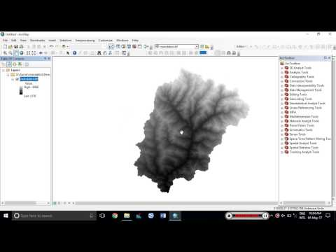 ESRI ArcGIS Extracting DEM elevations to Point Shp File and Excel