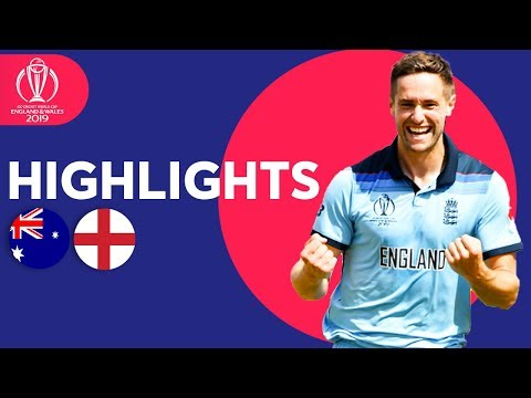 Australia vs England - Match Highlights  ICC Cricket World Cup 2019